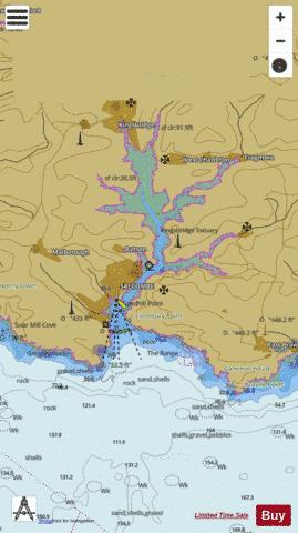 Salcombe Harbour Marine Chart - Nautical Charts App