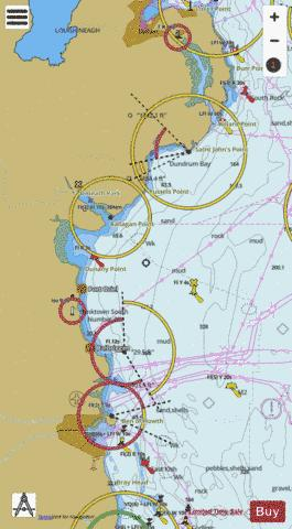 Nose of Howth to Ballyquintin Point Marine Chart - Nautical Charts App