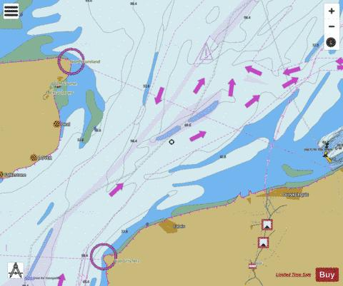 Dover Strait  Eastern Part Marine Chart - Nautical Charts App