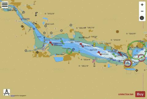 River Forth  Rosyth to Kincardine Marine Chart - Nautical Charts App
