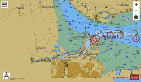 C Grangemouth and River Carron Marine Chart - Nautical Charts App