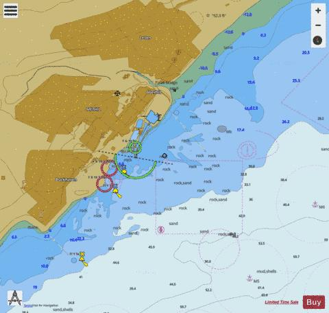 D Methil Marine Chart - Nautical Charts App