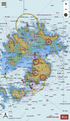 Saint Mary's and the Principal Off-Islands Marine Chart - Nautical Charts App