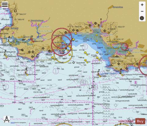 Linney Head to Oxwich Point Marine Chart - Nautical Charts App