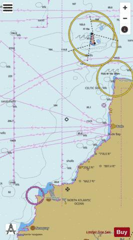 Trevose Head to Hartland Point Marine Chart - Nautical Charts App