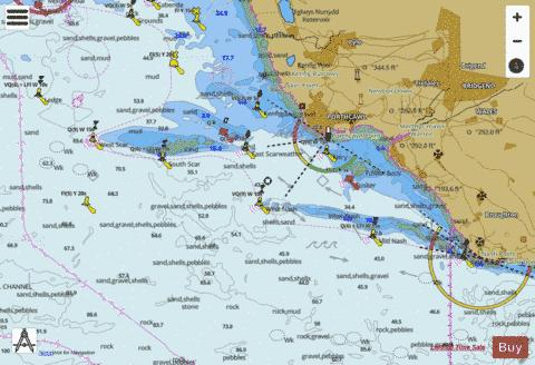 Approaches to Porthcawl Marine Chart - Nautical Charts App