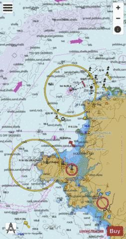 Approaches to Holyhead Marine Chart - Nautical Charts App