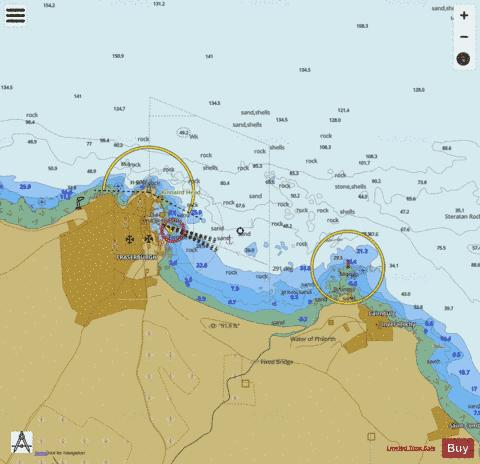 K  Fraserburgh Approaches Marine Chart - Nautical Charts App