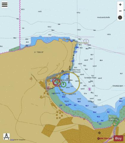 B  Scrabster Marine Chart - Nautical Charts App