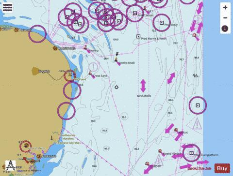 Cromer to Orford Ness Marine Chart - Nautical Charts App