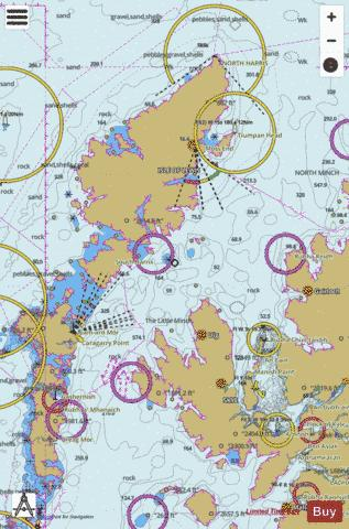 The Little Minch Northern Part Marine Chart - Nautical Charts App