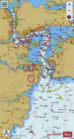 Port of Cork  Lower Harbour and Approaches Marine Chart - Nautical Charts App