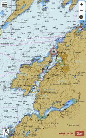 Oban and Approaches Marine Chart - Nautical Charts App