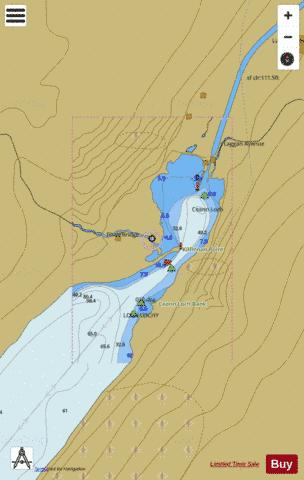 D  Loch Lochy Laggan Locks Marine Chart - Nautical Charts App