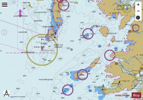 Barra Head to Point of Ardnamurchan Marine Chart - Nautical Charts App