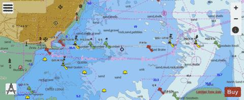 A  Approaches to Ramsgate Marine Chart - Nautical Charts App
