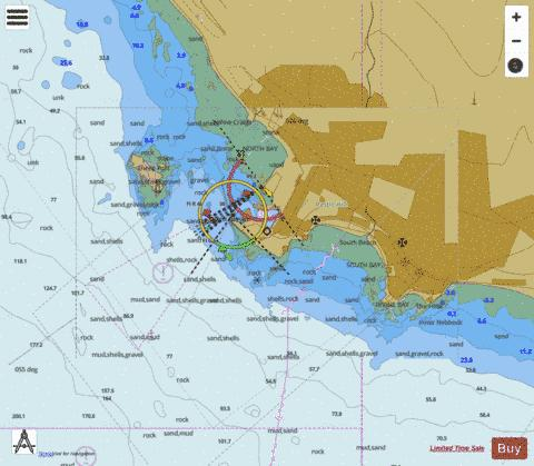 A  Ardrossan Marine Chart - Nautical Charts App