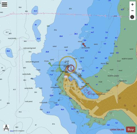 C  Troon Marine Chart - Nautical Charts App
