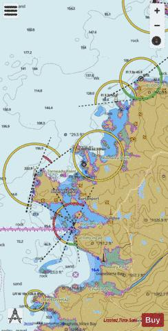 Crohy Head to Bloody Foreland including Aran Island Marine Chart - Nautical Charts App
