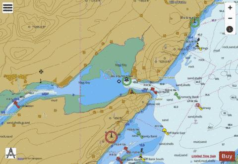 Cromarty Firth  Cromarty Bank to Invergordon Marine Chart - Nautical Charts App
