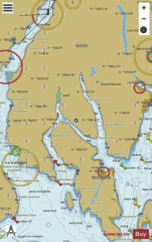 Kyles of Bute Marine Chart - Nautical Charts App