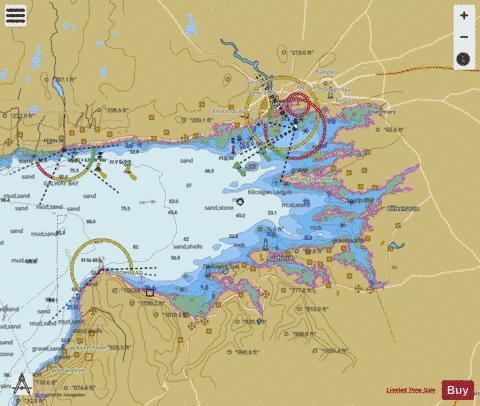 Galway Bay Ireland Map.Galway Bay Marine Chart 1984 0 Nautical Charts App