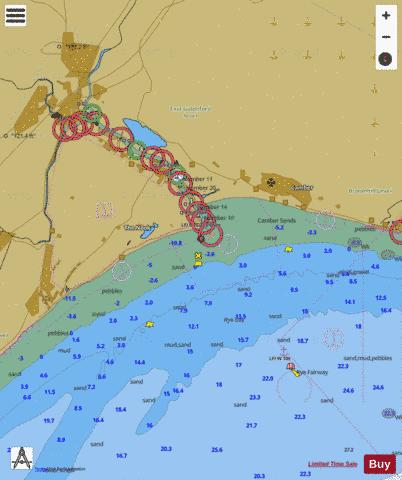 C Rye Harbour Marine Chart - Nautical Charts App