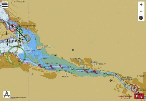 A River Clyde Marine Chart - Nautical Charts App
