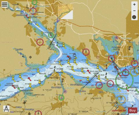 The solent and southampton water marine chart 2036 0 nautical