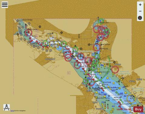 Port of Southampton Marine Chart 20410 Nautical Charts App