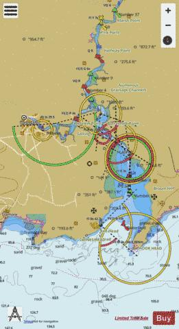 Waterford Harbour Marine Chart - Nautical Charts App