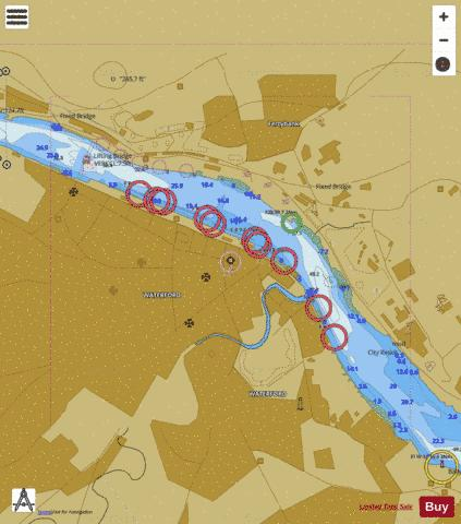 A  Waterford Marine Chart - Nautical Charts App