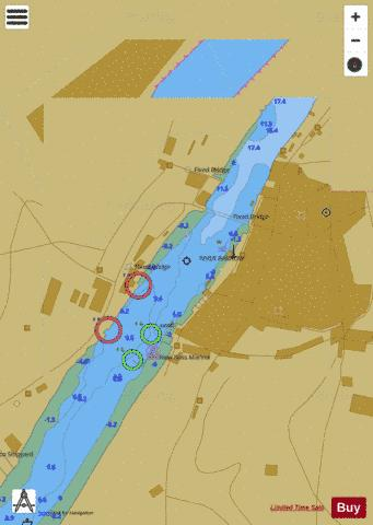 C  New Ross Marine Chart - Nautical Charts App