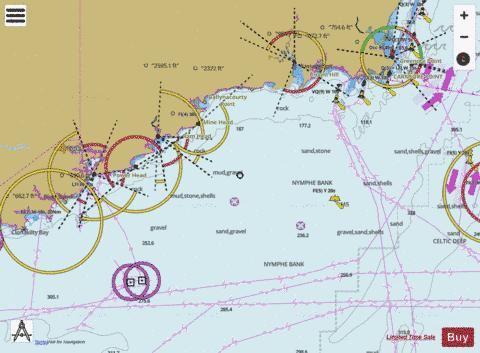 Old Head of Kinsale to Tuskar Rock Marine Chart - Nautical Charts App