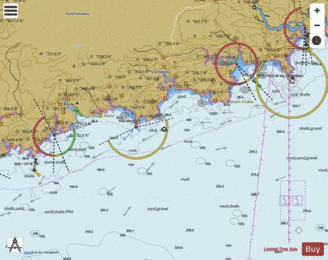 Toe Head to Old Head of Kinsale Marine Chart - Nautical Charts App