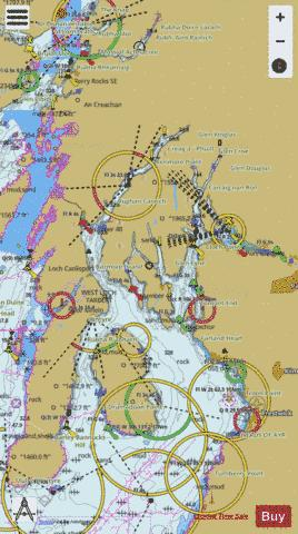 Firth of Clyde and Loch Fyne Marine Chart - Nautical Charts App