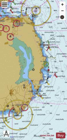 Strangford Lough Marine Chart - Nautical Charts App