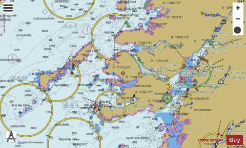 Sound of Mull and Approaches Marine Chart - Nautical Charts App