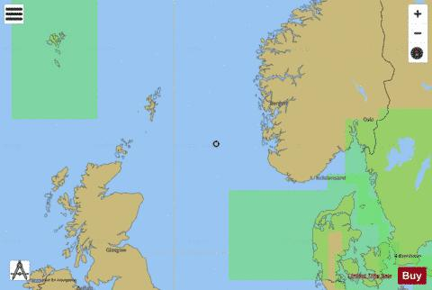 North Sea  Northern Sheet Marine Chart - Nautical Charts App