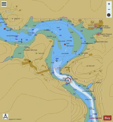 A Continuation to Blackness Point Marine Chart - Nautical Charts App