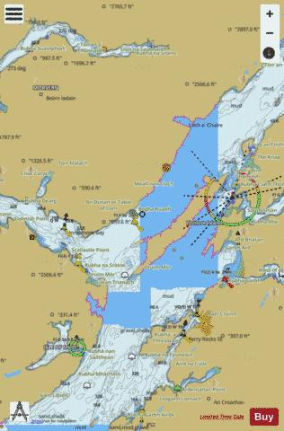 Loch Linnhe Southern Part Marine Chart - Nautical Charts App