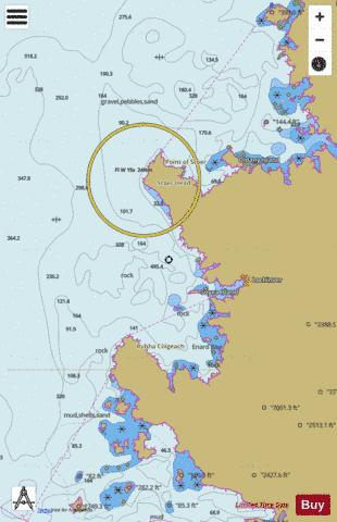 Lochinver and Approaches Marine Chart - Nautical Charts App