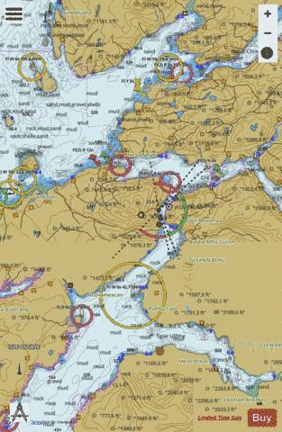 Loch Alsh and Approaches Marine Chart - Nautical Charts App