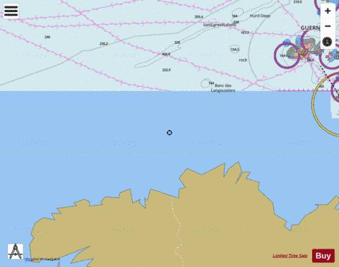 Roches de Portsall to Plateau des Roches Douvres Marine Chart - Nautical Charts App