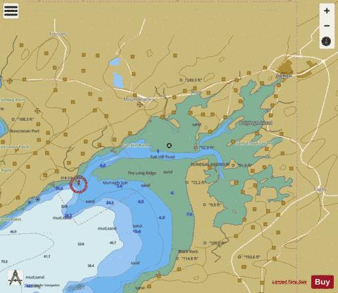 Donegal Harbour Marine Chart - Nautical Charts App