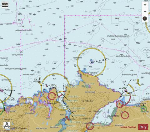 Sheep Haven to Lough Foyle including Inishtrahull Marine Chart - Nautical Charts App