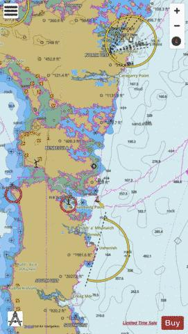 Usinish to Eigneig Mhor Marine Chart - Nautical Charts App
