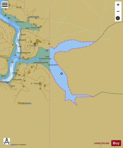D  Carew River Marine Chart - Nautical Charts App