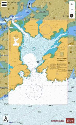 Baltimore Harbour Marine Chart - Nautical Charts App