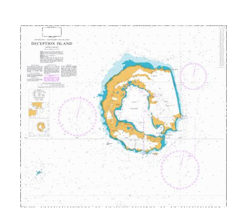Deception Island Marine Chart - Nautical Charts App